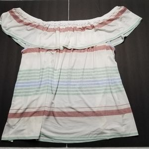 Maurices Cold Shoulder Top Womens Size 3